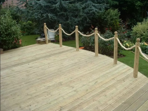 decking 300x224 - Fencing and Landscaping Mansfield