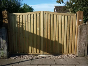 gate 300x225 - Fencing and Landscaping Mansfield