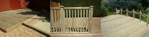 timber decking 300x76 - Fencing and Landscaping Mansfield
